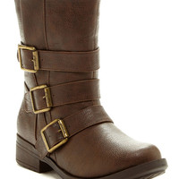 Groove | Groove Nevada Short Buckle Boot | Nordstrom Rack