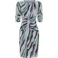 Whistles Bella Ikat Bodycon Dress