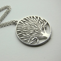 Tree of Life Necklace, pendant, gift, wedding, mother, wife, sister, daughter, bridesmaid, birthday, fall fashion, back to school