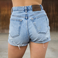 Vintage Calvin Klein High Waisted Shorts