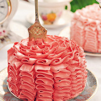 Petite Ruffle Cake | Flickr - Photo Sharing!