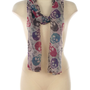 Skull Print Scarf