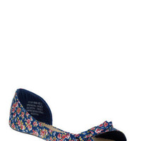 Posies and Bowsies Flat | Mod Retro Vintage Flats | ModCloth.com