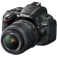 Nikon D5100 DX-Format Digital SLR Camera Two-Lens VR Outfit (18-55 AF DX & 70-300mm VR f/4.5-5.6G) - 25478-2161 - RitzCamera.com