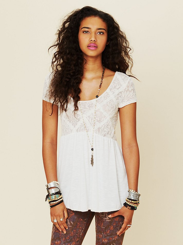 Free People Extreme Babydoll Tunic