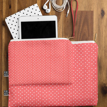 Allyson Johnson Red Dots Pouch
