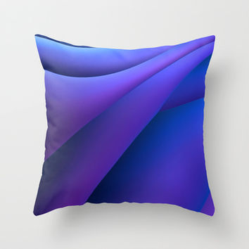 Silk Sheets Throw Pillow by Lyle Hatch