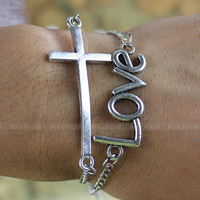 Fashionable silver bracelets bracelets men and women of the karma sacred bracelet