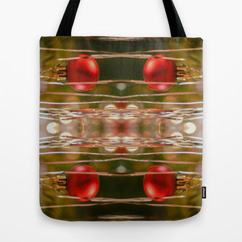 Twas The Night Before Christmas  Tote Bag by Louisa Catharine Design