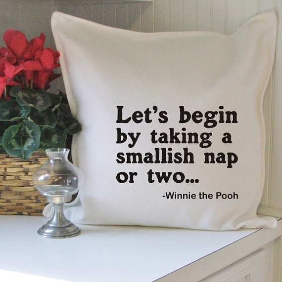 let's begin pillow cover