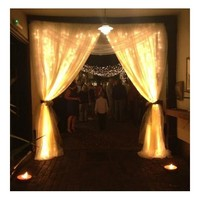 INST 96 LED Curtain Fairy String Lights for Party, Home Decorations,etc.(Warm White)