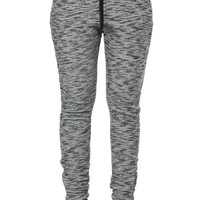 Laid Back Grey Knit Jogger Pants