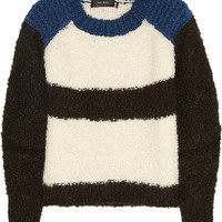 Isabel Marant Owel color-block knitted sweater – 55% at THE OUTNET.COM