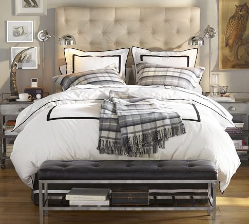 Pottery Barn - Lorraine Tufted Headboard