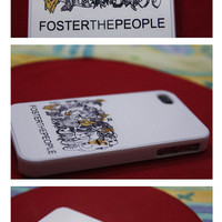 FOSTER THE PEOPLE iPhone case