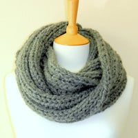 SALE Unisex Grey SCARF