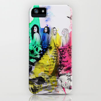 Four Seasons iPhone & iPod Case by Sara Eshak