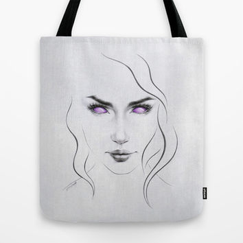 These eyes are not your eyes Tote Bag by eDrawings38 | Society6