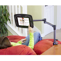 The Table Clamp Articulating iPad Stand