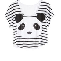 Panda Stripes Tee