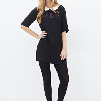 Peter Pan Collar Shift Dress