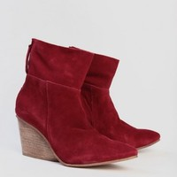 East Booties In Red By Matisse