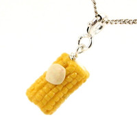 Corn necklace - buttered corn on the cob