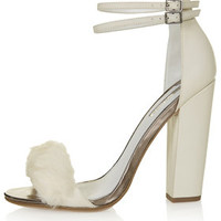 RABBIT Faux Fur Fluffy Sandals - New In This Week - New In