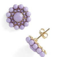 My Own Rendition Earrings in Lavender | Mod Retro Vintage Earrings | ModCloth.com