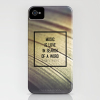 Music Is iPhone Case by Galaxy Eyes | Society6