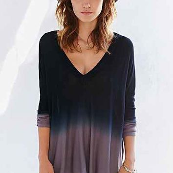 Pins And Needles Dip-Dye Tent Top - Urban Outfitters