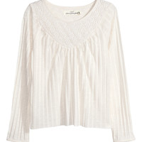 H&M - Pleated Top