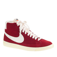 MEN'S NIKE® BLAZER HIGH SUEDE VINTAGE SNEAKERS