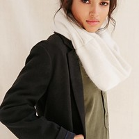 Cashmere Patch Snood Scarf