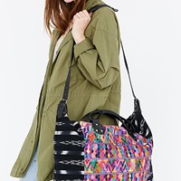 Stela 9 Isabel Embroidered Weekender Bag