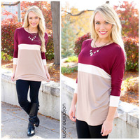 Burgundy Bliss Top