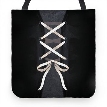 Laced up Corset Tote