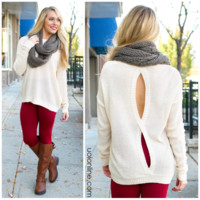 Welcome Back Sweater - IVORY /