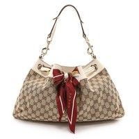What Goes Around Comes Around Gucci Positano Scarf Hobo