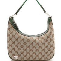 What Goes Around Comes Around Gucci Canvas Hobo