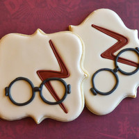 Harry Potter inspired cookies