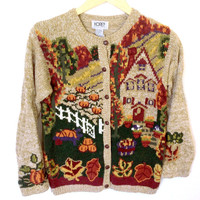 Home For Thanksgiving Tacky Ugly Holiday Sweater