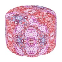Crazy Abstract Pattern Poufs