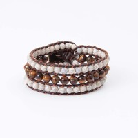 Altar'd State Crackle Beaded Wrap Bracelet | Altar'd State