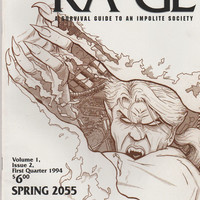KA*GE Magazine;  V1, 2. NM- 1st Quarter 1994. Awol Productions