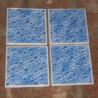 Water Droplet Coasters - Set of Four