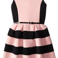 Beautees Big Girls' Girls Colorblocked Dress