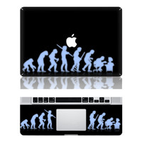 Human Evolution -- Macbook Cover Protector Decal Laptop Art Sticker Skin for Apple Macbook Pro/ Macbook Air