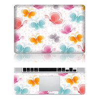 Butterfly -- Mac Protection Decal Mac Full-cover Decal  Laptop Art Decal Skin Sticker Cover for Apple Macbook Pro/ Macbook Air