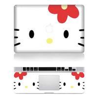 Hello Kitty -- Macbook Cover Protector Decal  Laptop Art  Sticker Skin for Apple Macbook Pro/ Macbook Air